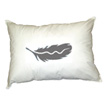White Duck Feather Pillow - Queen